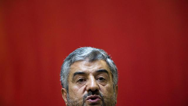 Le général Mohammad Ali Jafari, commandant en chef des Gardiens de la révolution, le 6 septembre 2011 à Téhéran [Behrouz Mehri / AFP/Archives]