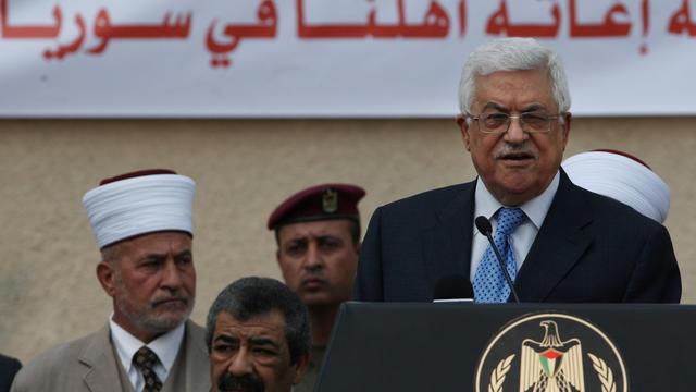 Le président de l'Autorité palestinienne Mahmoud Abbas le 5 août 2012 à Ramallah [Abbas Momani / AFP/Archives]