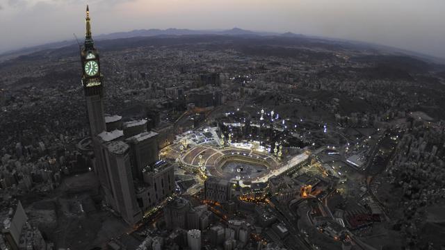 Vue aérienne de La Mecque [Amer Hilabi / AFP/Archives]