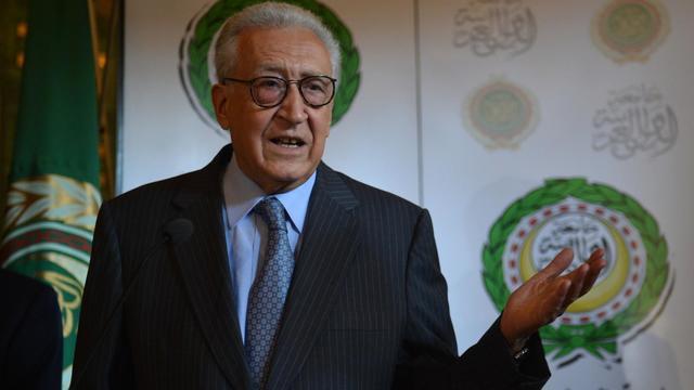 L'émissaire de l'ONU et de la Ligue arabe Lakhdar Brahimi, le 10 septembre 2012 au Caire [Khaled Desouki / AFP/Archives]