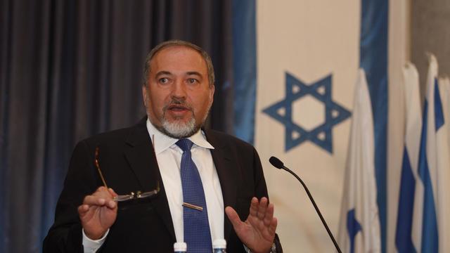 Le ministre israélien des Affaires étrangères Avigdor Lieberman, le 13 septembre 2012 à Jérusalem [Gali Tibbon / AFP/Archives]