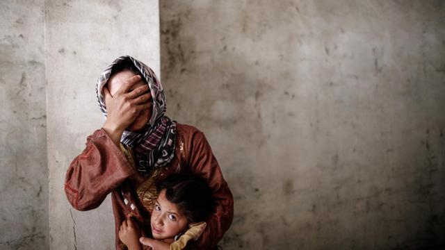 Des bombardements à Alep, le 13 septembre 2012. [Sam Tarling / AFP/Archives]