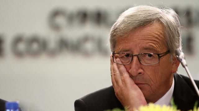 Le chef de file des ministres des Finances de la zone euro, Jean-Claude Juncker à Nicosie, Chypre, le 14 septembre 2012 [Yiannis Kourtoglou / AFP/Archives]