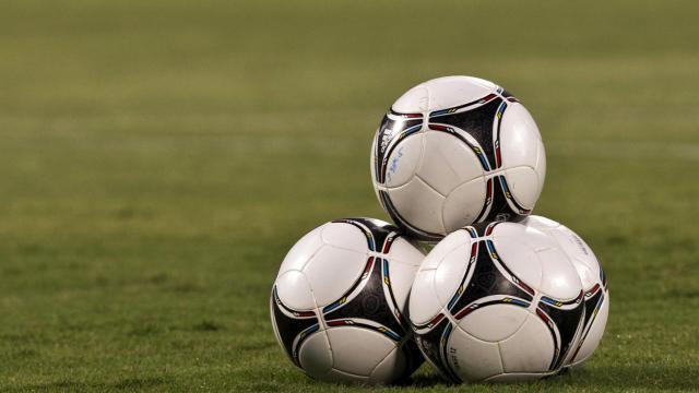 Des ballons de foot [Jack Guez / AFP/Archives]