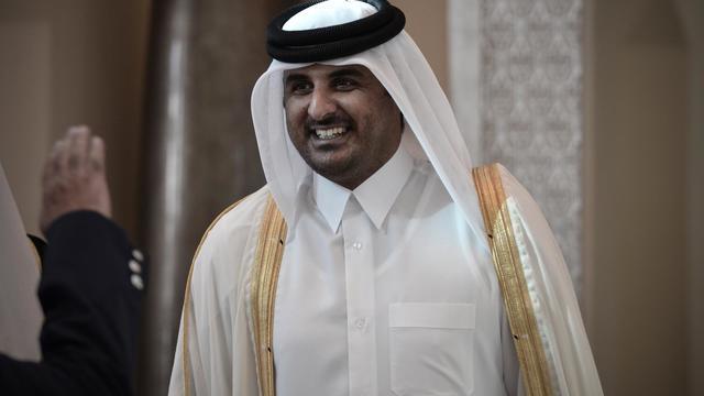 Le cheikh Tamim, le 24 décembre 2012 à Manama [Mohammed al-Shaikh / AFP/Archives]