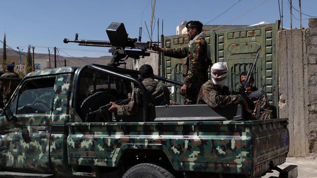 Des soldats yéménites à Sanaa, le 19 janvier 2013 [Mohammed Huwais / AFP/Archives]