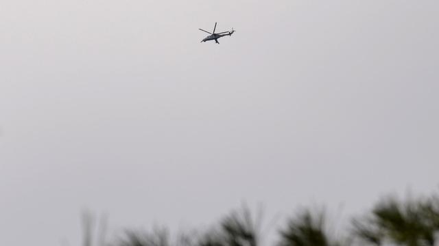 Un hélicoptère de l'armée syrienne [Aamir Qureshi / AFP/Archives]