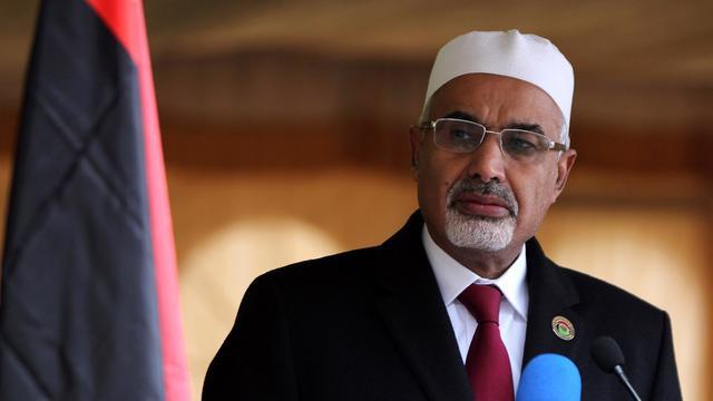 Le président de l'Assemblée libyenne, Mohamed al-Megaryef, le 17 février 2013 à Benghazi [Abdullah Doma / AFP/Archives]