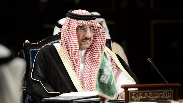 Le ministre saoudien de l'Intérieur,  le Prince Mohammed bin Nayef bin Abdulaziz, le 23 avril 2013 [Mohammed al-Shaikh / AFP/Archives]