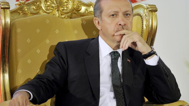 Le Premier ministre turc Recep Tayyip Erdogan, le 6 juin 2013 à Tunis [Fethi Belaid / AFP]