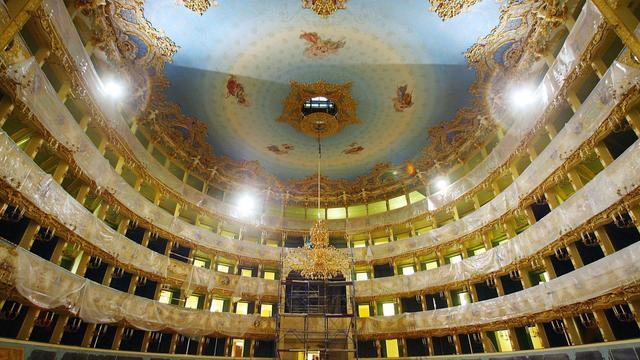 Vue générale de la Fenice de Venise [Patrick Hertzog / AFP/Archives]