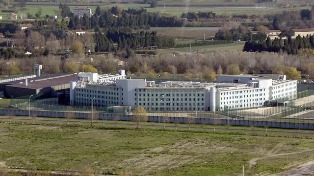 Vue aérienne du centre de détention de Tarascon [Gerard Julien / AFP/Archives]