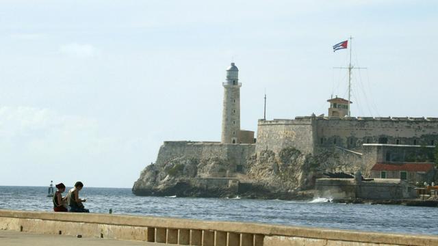 Vue de l'entrée du port de la Havane [Gabriel Bouys / AFP/Archives]