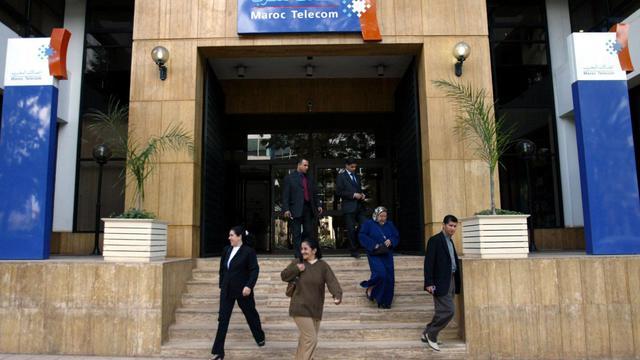 Vue du siege de Maroc Telecom à Rabat [Abdelhak Senna / AFP/Archives]