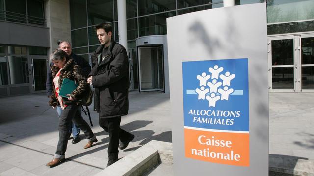 Vue extérieure de la Caisse nationale des allocations familiales à Paris [Jack Guez / AFP/Archives]