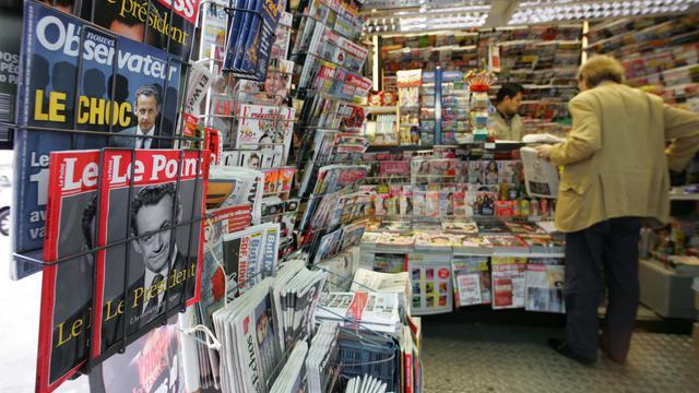Un kiosque à journaux [Damien Meyer / AFP/Archives]