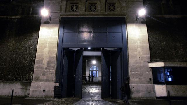 L'entrée de la prison de la Santé à Paris. [Joel Robine / AFP/Archives]