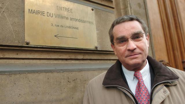 Le maire UMP du 8e arrondissement de Paris François Lebel, le 2 février 2008. [Jean Ayissi / AFP/Archives]