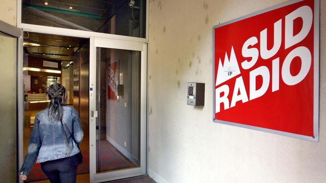 Les locaux de Sud Radio à Toulouse en 2005 [Georges Gobet / AFP/Archives]
