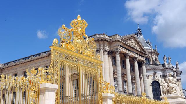 L'entrée du château de Versailles [Bertrand Guay / AFP/Archives]