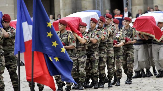 L'organisateur présumé de l'attaque des talibans qui a entraîné la mort de dix soldats français en août 2008, la plus meurtrière contre les Français en Afghanistan, a été tué lors d'un bombardement de la force de l'Otan. [POOL]