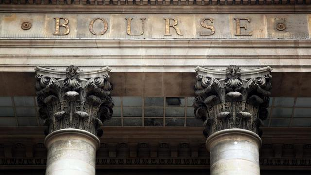 Le palais Brongniart qui hébergeait la Bourse de Paris [Jacques Demarthon / AFP/Archives]