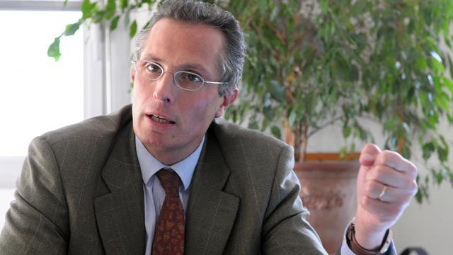 Le président de la Fédération française des industries mécaniques (FIM), Jérôme Frantz, le 23 octobre 2008 à Paris [Eric Piermont / AFP/Archives]