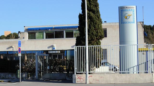Photo prise le 28 décembre 2008 à Marseille de l'entrée de l'hôpital Edouard Toulouse [Michel Gangne / AFP/Archives]