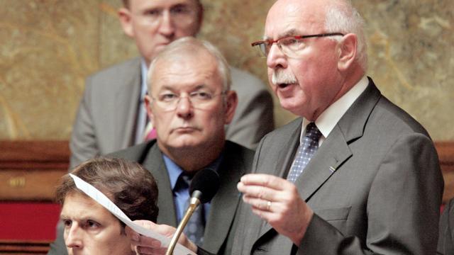 Le maire UMP de Vienne (Isère) Jacques Remiller, le 28 juin 2005 à l'Assemblée nationale à Paris [Mehdi Fedouach / AFP/Archives]