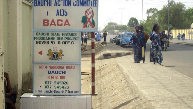 Une rue de la ville de Bauchi dans le nord du Nigeria [Aminu Abubakar / AFP/Archives]