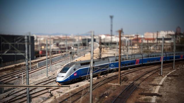 Un TGV dans l'est de la France [Fred Dufour / AFP/Archives]