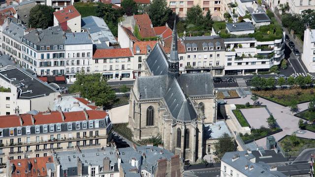 Vue de la ville de Saint-Cloud, en région parisienne [Loic Venance / AFP/Archives]