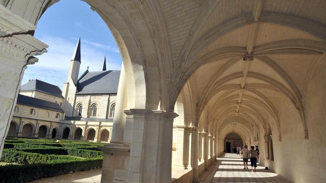 Vue de l'Abbaye de Fontevraud à Saumur [Frank Perry / AFP/Archives]