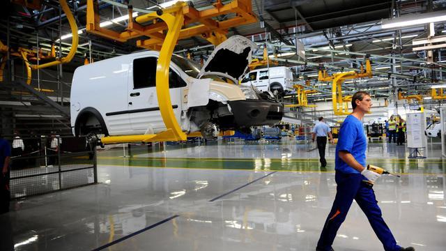 Une usine de montage Ford à Craiova, en Roumanie [Daniel Mihailescu / AFP/Archives]