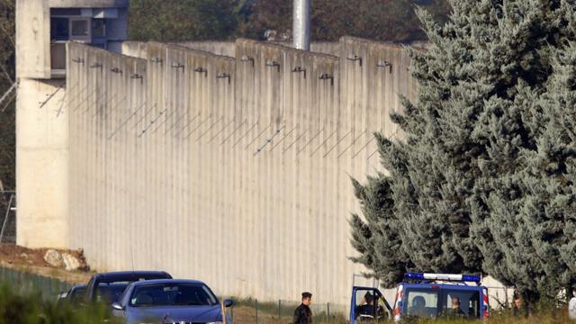Les murs de la centrale de Moulins-Yzeure, en férvier 2009 [Thierry Zoccolan / AFP/Archives]