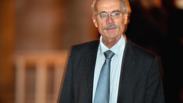 Le juge Renaud van Ruymbeke, le 6 octobre 2009, lors du procès Clearstream [Martin Bureau / AFP/Archives]