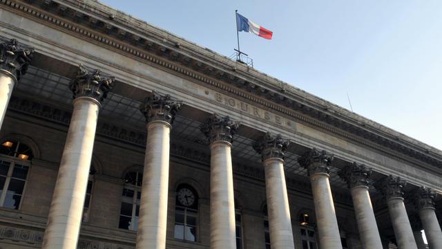 Le Palais Brongniart, qui hébergeait autrefois la Bourse de Paris [Eric Piermont / AFP/Archives]