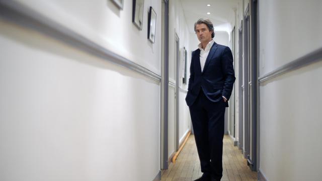Le docteur Stéphane Delajoux pose le 8 janvier 2010 à Paris [Olivier Laban-Mattei / AFP/Archives]