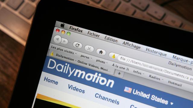 La page d'accueil de Dailymotion [Loic Venance / AFP/Archives]