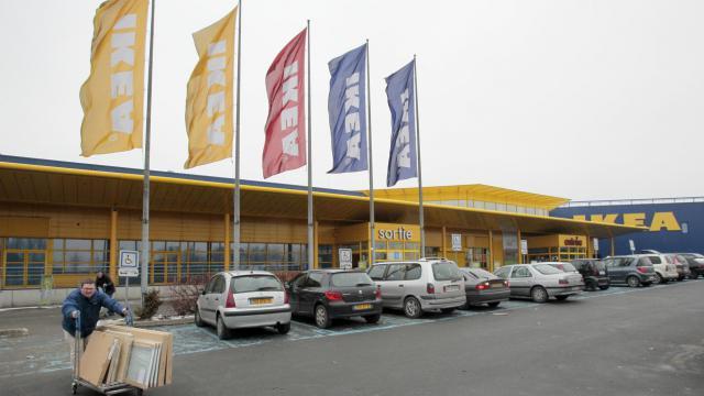 Le magasin Ikea Roissy/Paris Nord 2 à Gonesse [Jacques Demarthon / AFP/Archives]