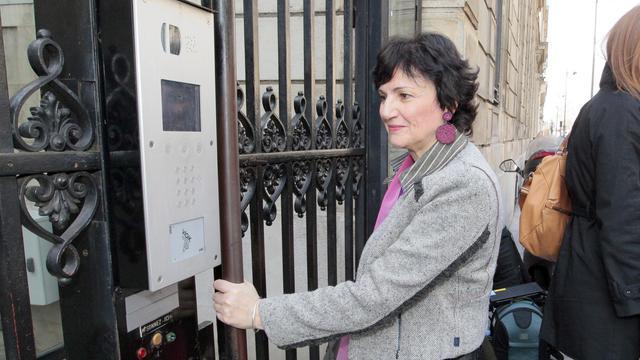 La ministre déléguée à la Famille, Dominique Bertinotti, le 23 mars 2010 à Paris [Jacques Demarthon / AFP/Archives]