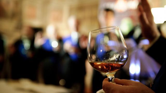 Un verre d'armagnac [Vincenzo Pinto / AFP/Archives]
