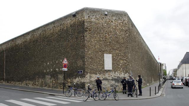 La maison d'arrêt de la Santé dans le 14e arrondissement de Paris [Patrick Kovarik / AFP/Archives]