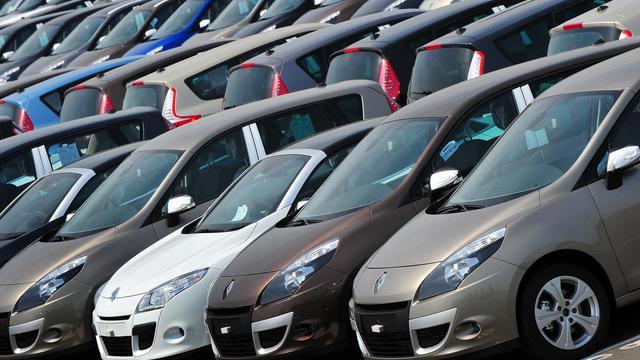 Des voitures Renault [Philippe Huguen / AFP/Archives]