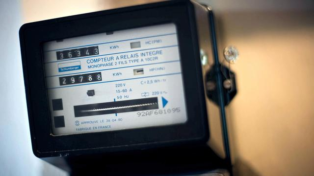 Photo du compteur électrique d'un particulier [Jeff Pachoud / AFP/Archives]