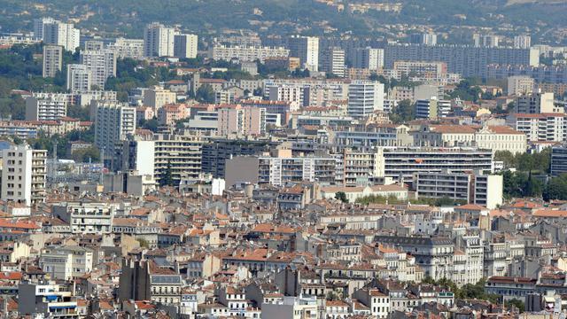 Une vue des quartiers Nord de Marseille [Gérard Julien / AFP/Archives]