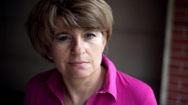 Claire Thibout, l'ancienne comptable de la milliardaire Liliane Bettencourt, le 1er octobre 2010 [Fred Dufour / AFP/Archives]