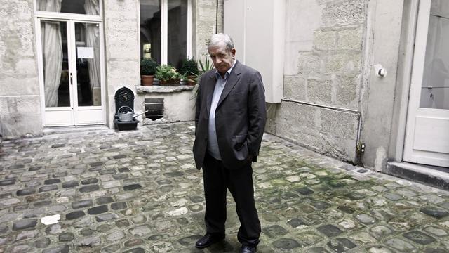 Le journaliste de France 2 Charles Enderlin, le 4 octobre 2010 à Paris [Joel Saget / AFP/Archives]