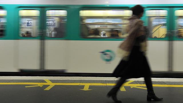 Le métro parisien [Miguel Medina / AFP/Archives]
