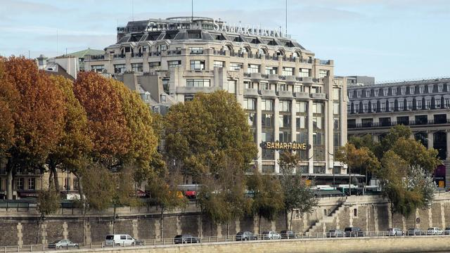 L'immeuble de la Samaritaine à Paris [Jacques Demarthon / AFP/Archives]